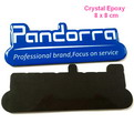 10B2B custom crystal promotional epoxy fridge magnet 8x8cm
