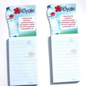 10B6 custom promotional   fridge magnet note pads 5x14m