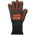 10F4      BBQ long gloves Resistant to temperature 500 ℃