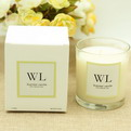 10Q3    custom Glass scented candle