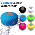 10V07    waterproof bathroom Bluetooth speaker mushroom head size sucker car hands-free Bluetooth speaker