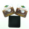 F06 custom branded printing Rubber drink coaster