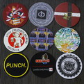 F07 Cheaper promotional cardboard drink coaster printing