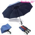 "U01    Radius 23"" Automatic folding umbrella"