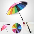 "U10    Radius 23"" Automatic straight umbrella"