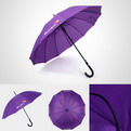 "U11    Radius 23"" Automatic umbrella"