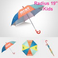 "U14    Radius 19"" kids umbrella"