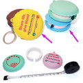 10A14 Custom logo moulded silicon tape measure