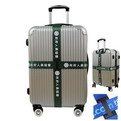 10C8 custom standard Full Colour printing cross  Luggage Strap