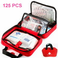 10K5    125 pcs Portable outdoor first aid kit