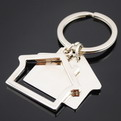 QM66 promotional brand metal keychain gift